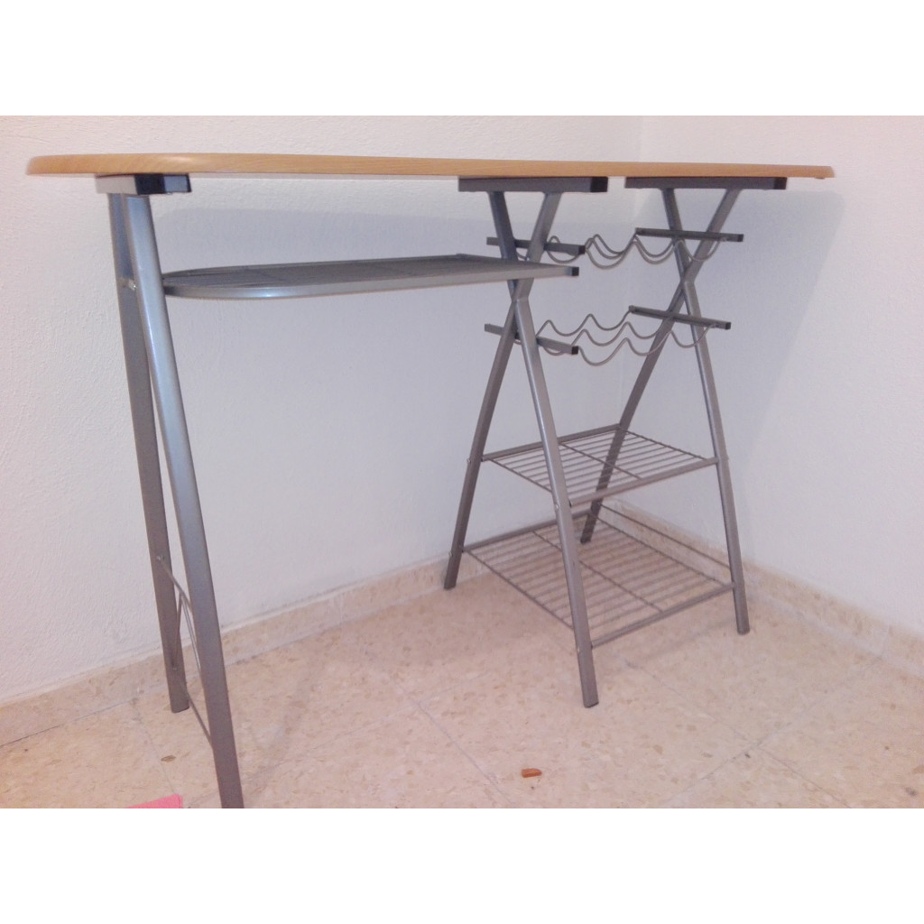 Donación de excedentes de material - Mesa auxiliar cocina y ...