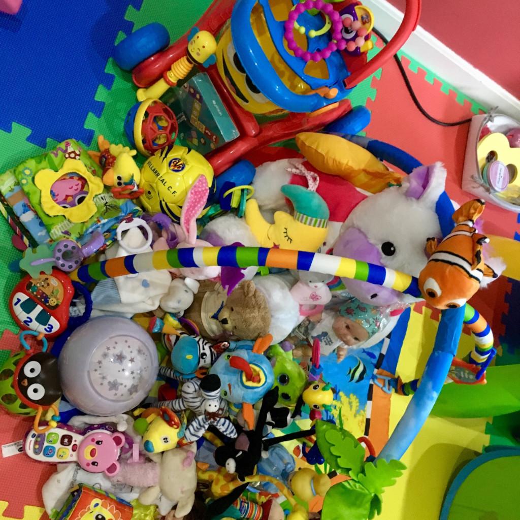 Lote de juguetes para bebés (0 a 2 años)