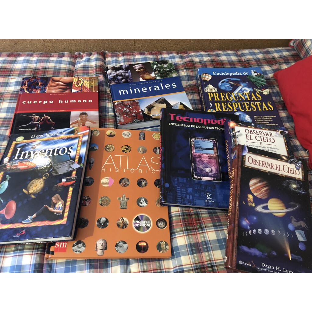Libros y enciclopedias