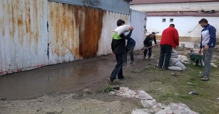 Reconstrucción en la Cañada Real