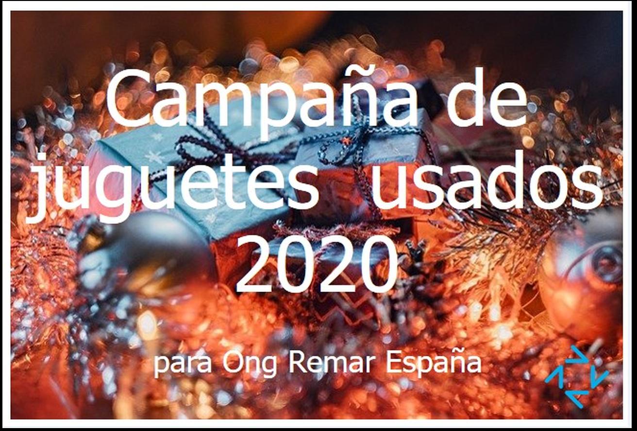 Entregas de Juguetes en buen estado 2020