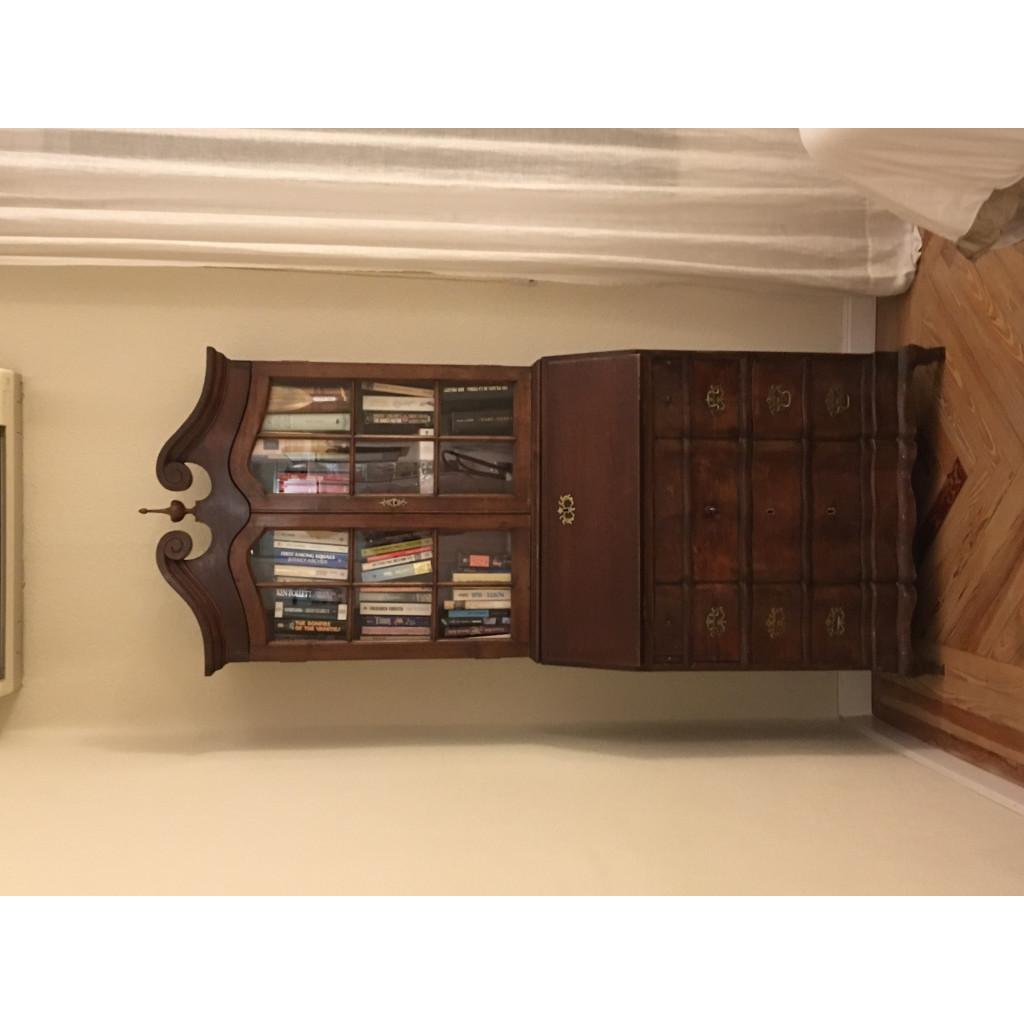 Fundaci n valora mueble vitrina madera for Mueble vitrina